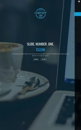 Onyx Cafe Website Template