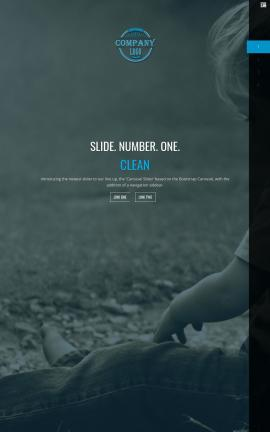 Onyx Child-care Website Template