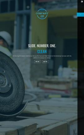 Onyx Construction Website Template