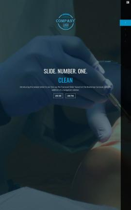 Onyx Dental Website Template