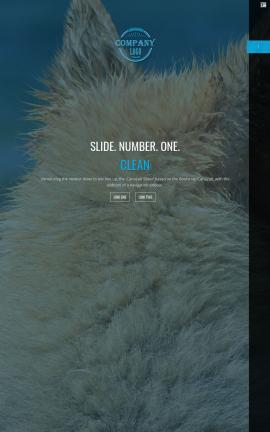 Onyx Dogs Website Template