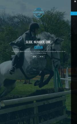 Onyx Equestrian Website Template