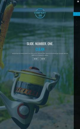 Onyx Fishing Website Template
