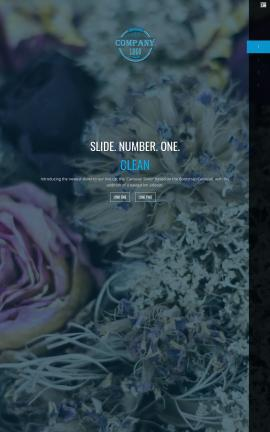 Onyx Floral Website Template