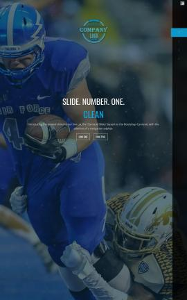 Onyx Football Website Template