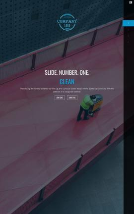 Onyx Janitorial Website Template