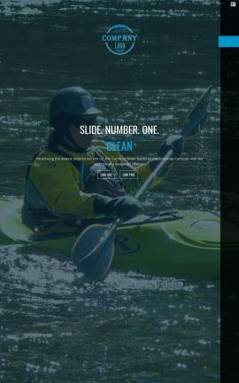 Onyx Kayak Website Template