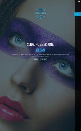 Onyx Makeup-artist Website Template