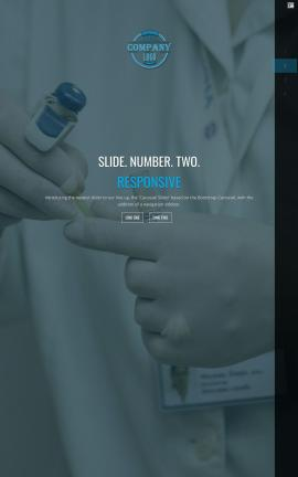 Onyx Medical Website Template