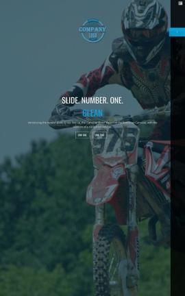 Onyx Motocross Website Template