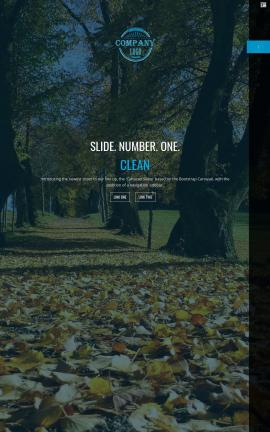 Onyx Nature Website Template