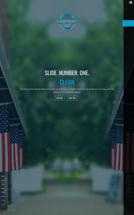Onyx Patriotic Website Template