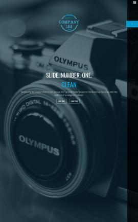 Onyx Photography Website Template