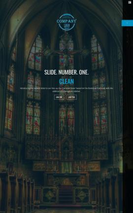 Onyx Religion Website Template