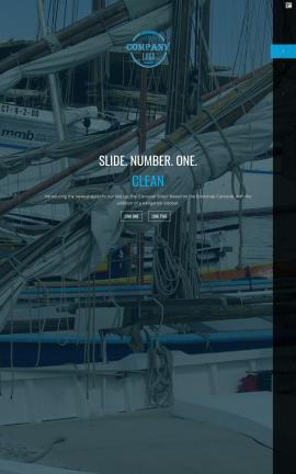 Onyx Sailing Website Template