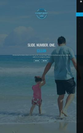 Onyx Travel Website Template
