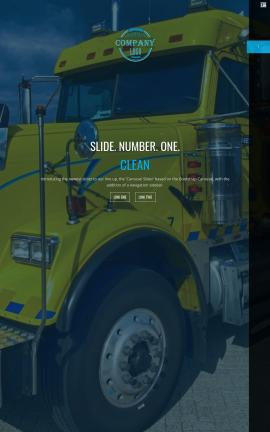Onyx Trucking Website Template