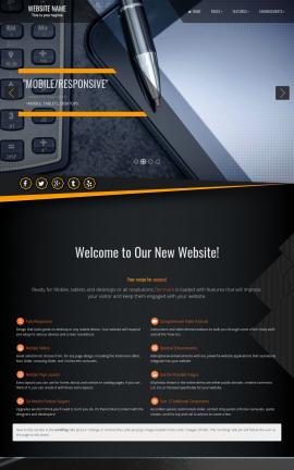 Denmark Accounting Website Template