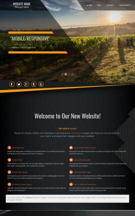 Denmark Agriculture Website Template