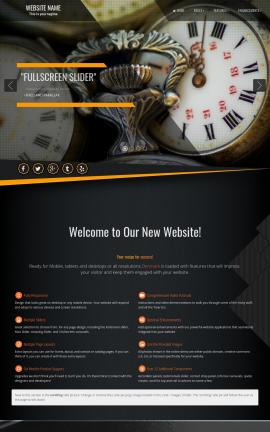Denmark Antiques Website Template
