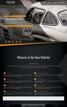 Denmark Automobile Website Template