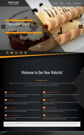 Denmark Bakery Website Template