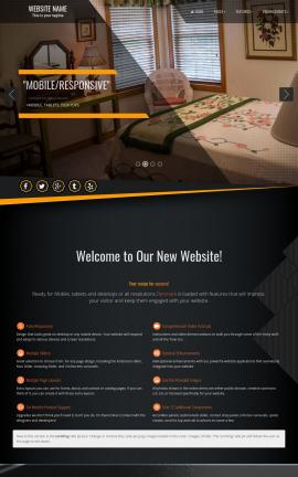 Denmark Bed-and-breakfast Website Template