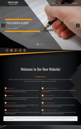 Denmark Business Website Template