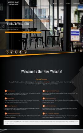 Denmark Cafe Website Template