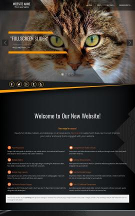 Denmark Cats Website Template