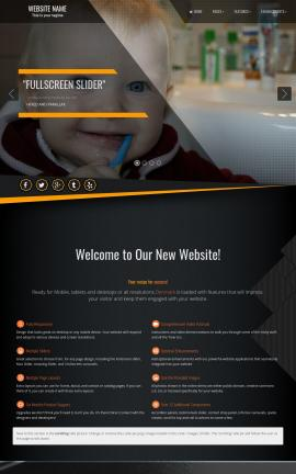 Denmark Dental Website Template