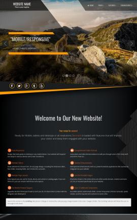 Denmark Dogs Website Template