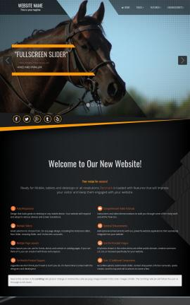 Denmark Equestrian Website Template