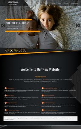 Denmark Family Website Template