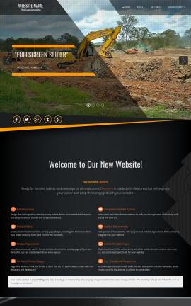 Denmark Heavy-machines Website Template