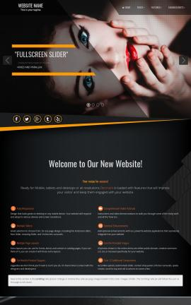 Denmark Makeup-artist Website Template