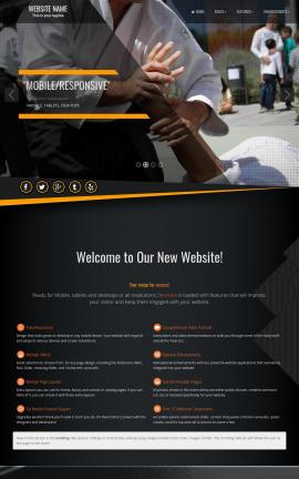 Denmark Martial-arts Website Template