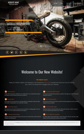 Denmark Motorcycle Website Template