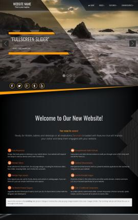 Denmark Multi-purpose Web Template
