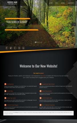 Denmark Nature Website Template