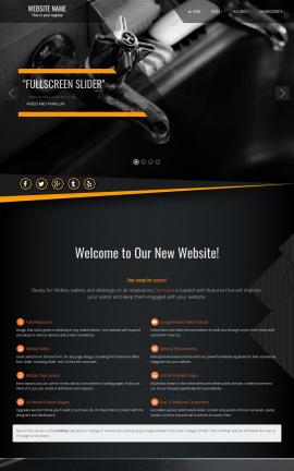 Denmark Plumbing Website Template