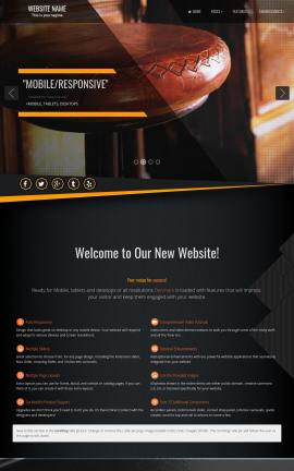 Denmark Pub Website Template