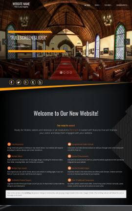 Denmark Religion Website Template