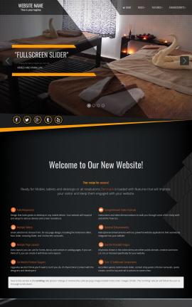 Denmark Spa Website Template