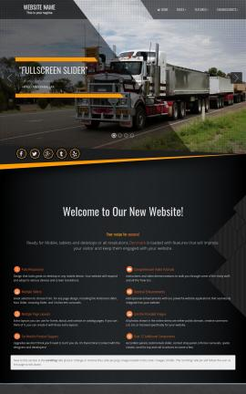 Denmark Trucking Website Template