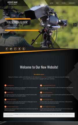 Denmark Videography Website Template