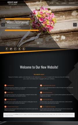 Denmark Wedding Website Template
