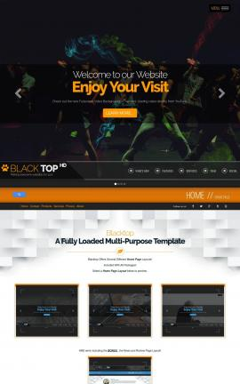 Blacktop Dance Website Template