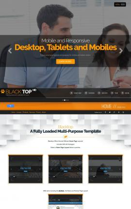 Blacktop Law Website Template