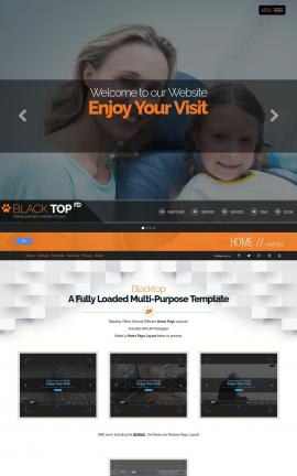 Blacktop Dental Website Template